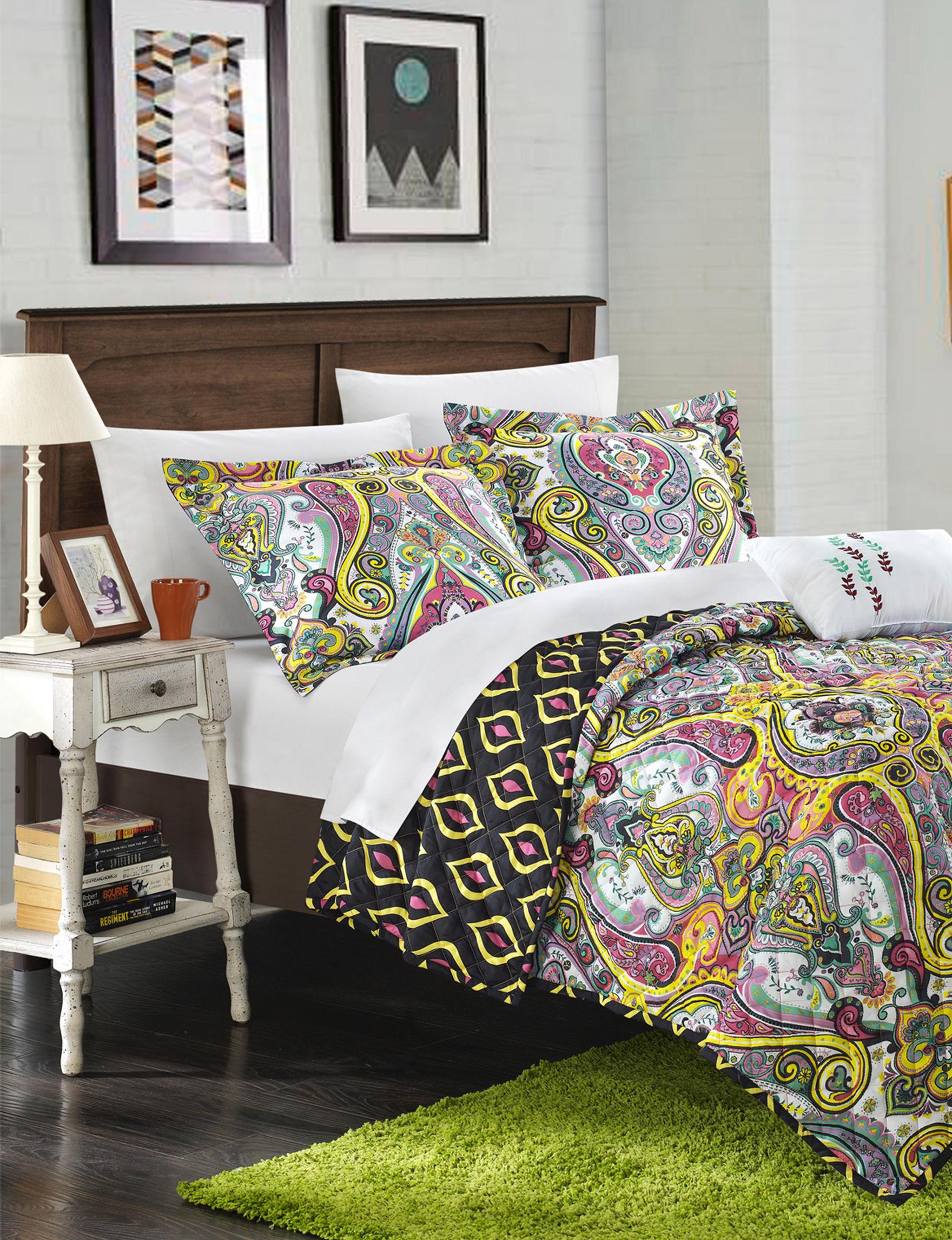 Chic Home Design Purple Quilts & Quilt Sets