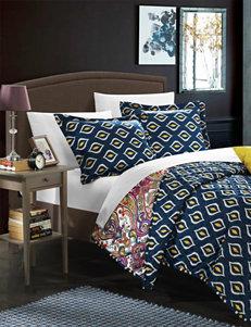 Chic Home Design Pink / Blue Duvets & Duvet Sets