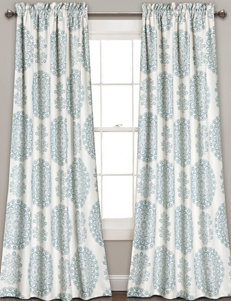 Half Moon Blue Window Treatments