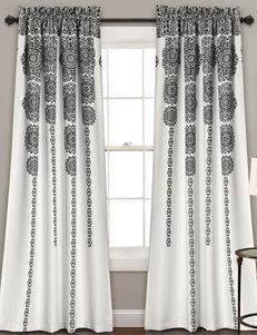 Half Moon Black Window Treatments