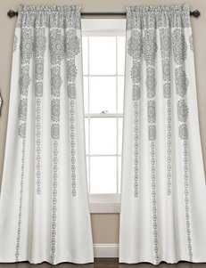 Half Moon Grey Window Treatments