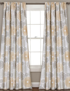 Half Moon Yellow Window Treatments