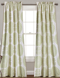 Half Moon Green Window Treatments