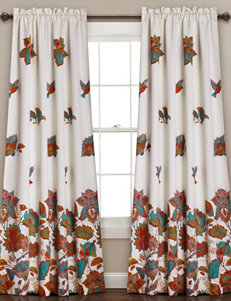 Half Moon Turqouise Window Treatments