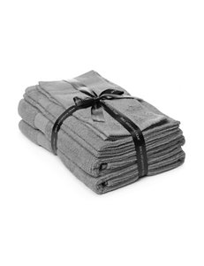 Jessica McClintock Grey Towel Sets Towels