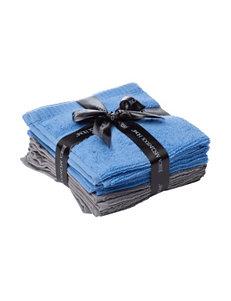 Jessica McClintock Chambray Towel Sets Washcloths Towels