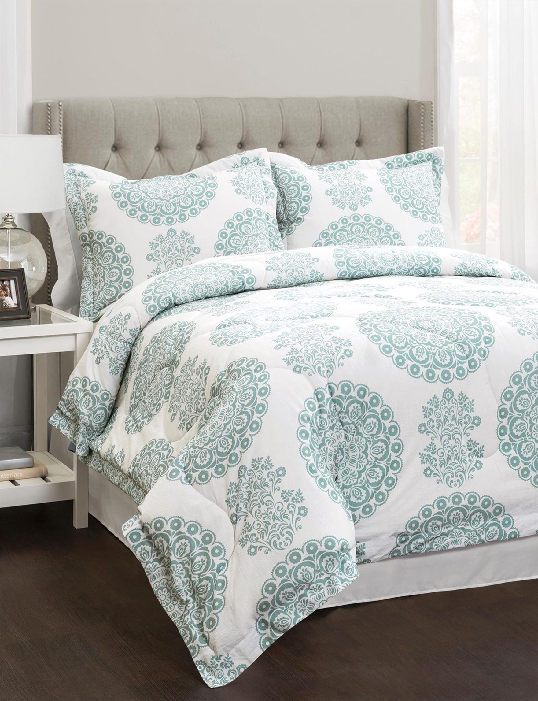 Lush Decor Green Comforters & Comforter Sets