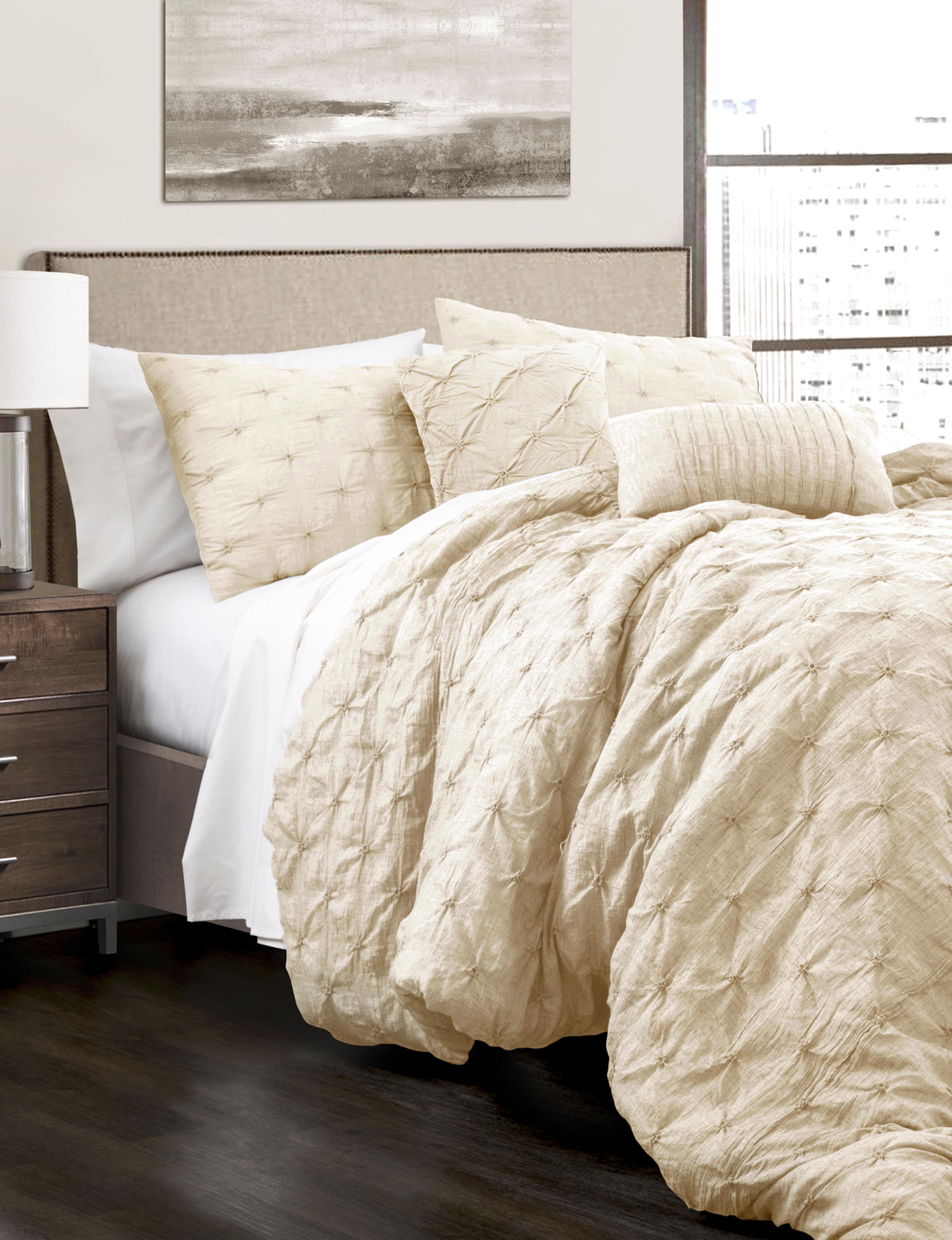 Lush Decor Ivory Comforters & Comforter Sets