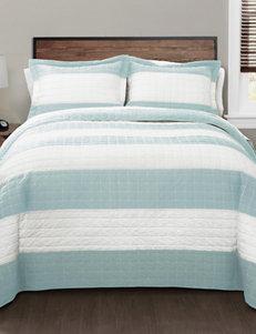 Lush Decor Blue / White Quilts & Quilt Sets