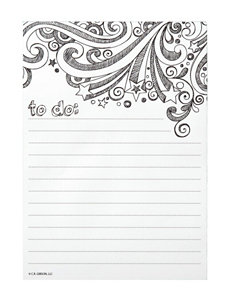 C.R. Gibson Color Me Magnetic Notepad