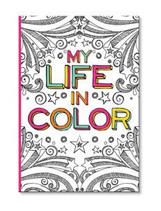 C.R. Gibson Color Me Journal