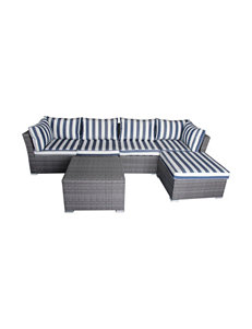 Thy-Hom Bright Blue Patio & Outdoor Furniture