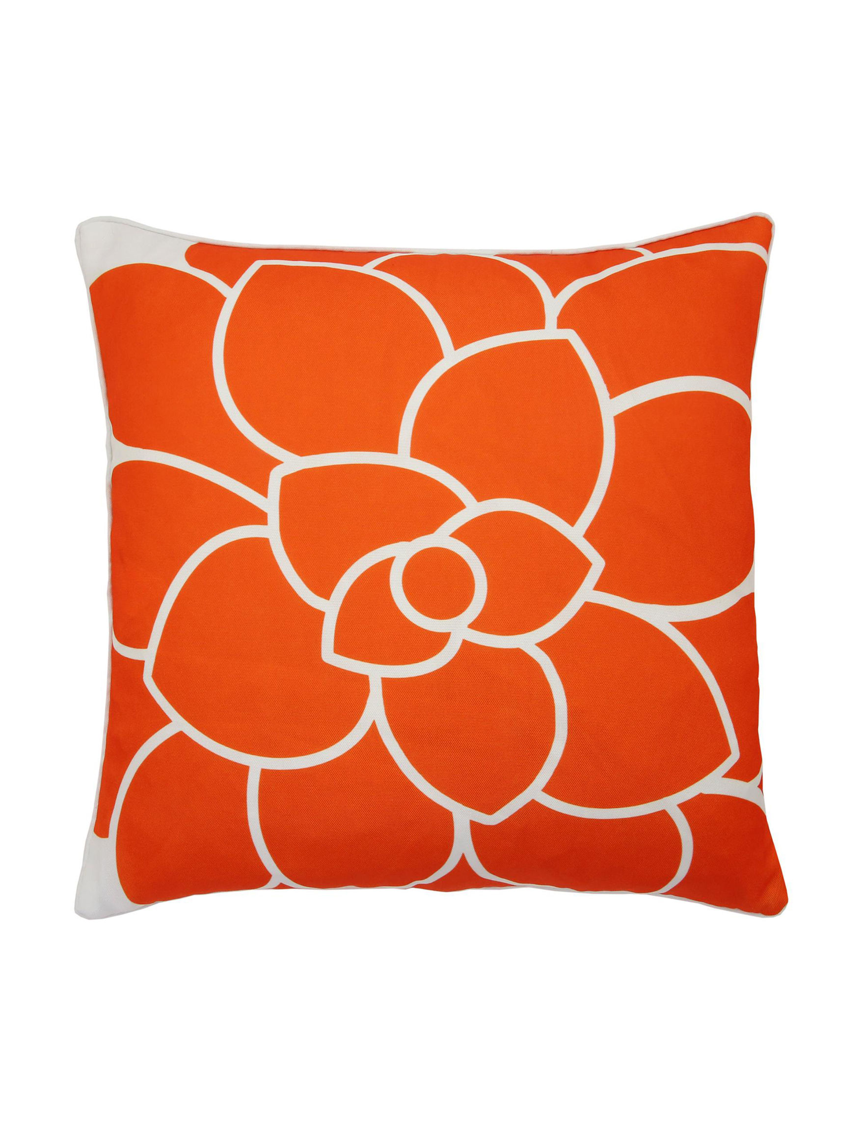 Lush Decor Orange Decorative Pillows