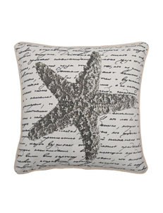 Lush Decor Grey Decorative Pillows