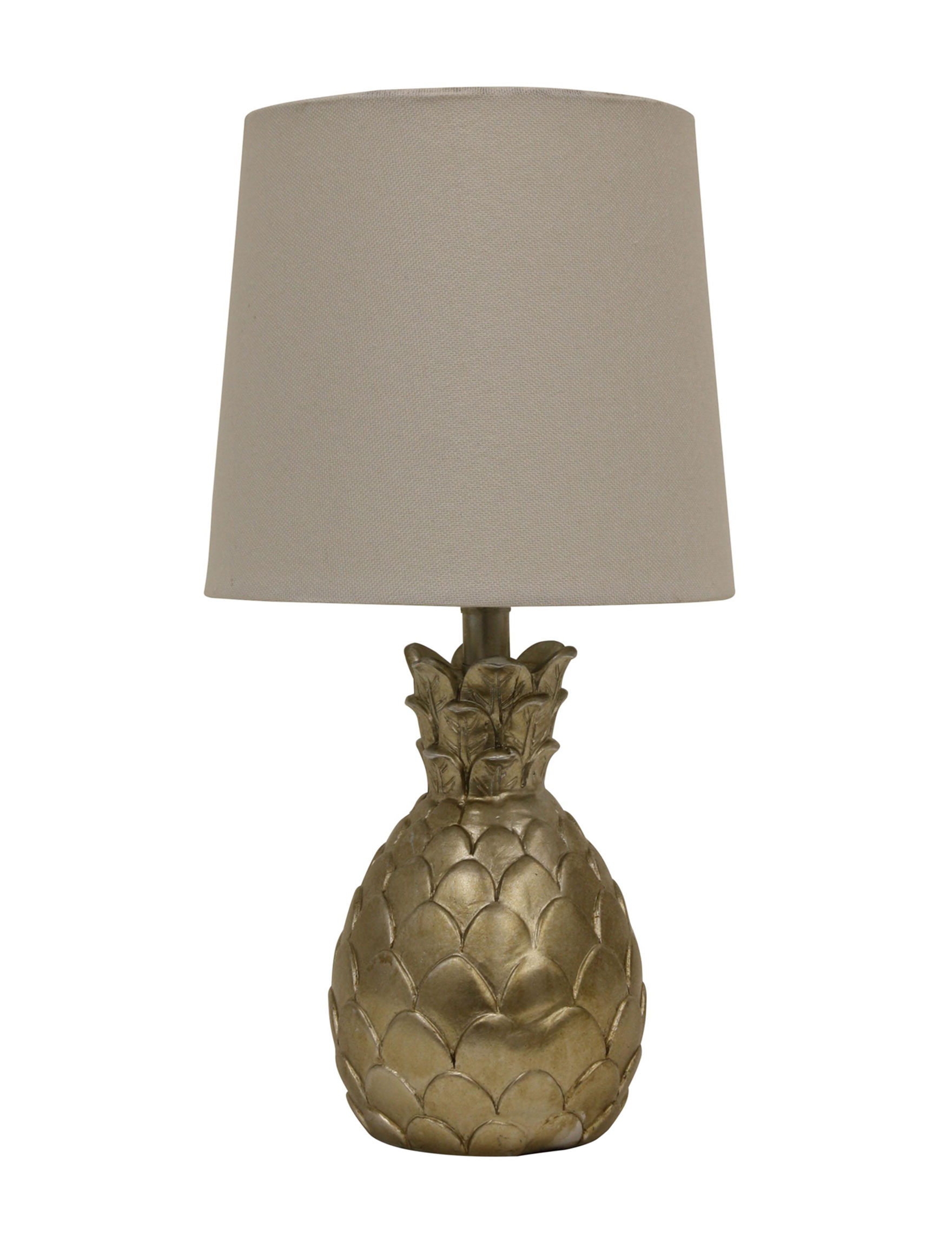 Decor Therapy Silver Leaf Table Lamps Lighting & Lamps