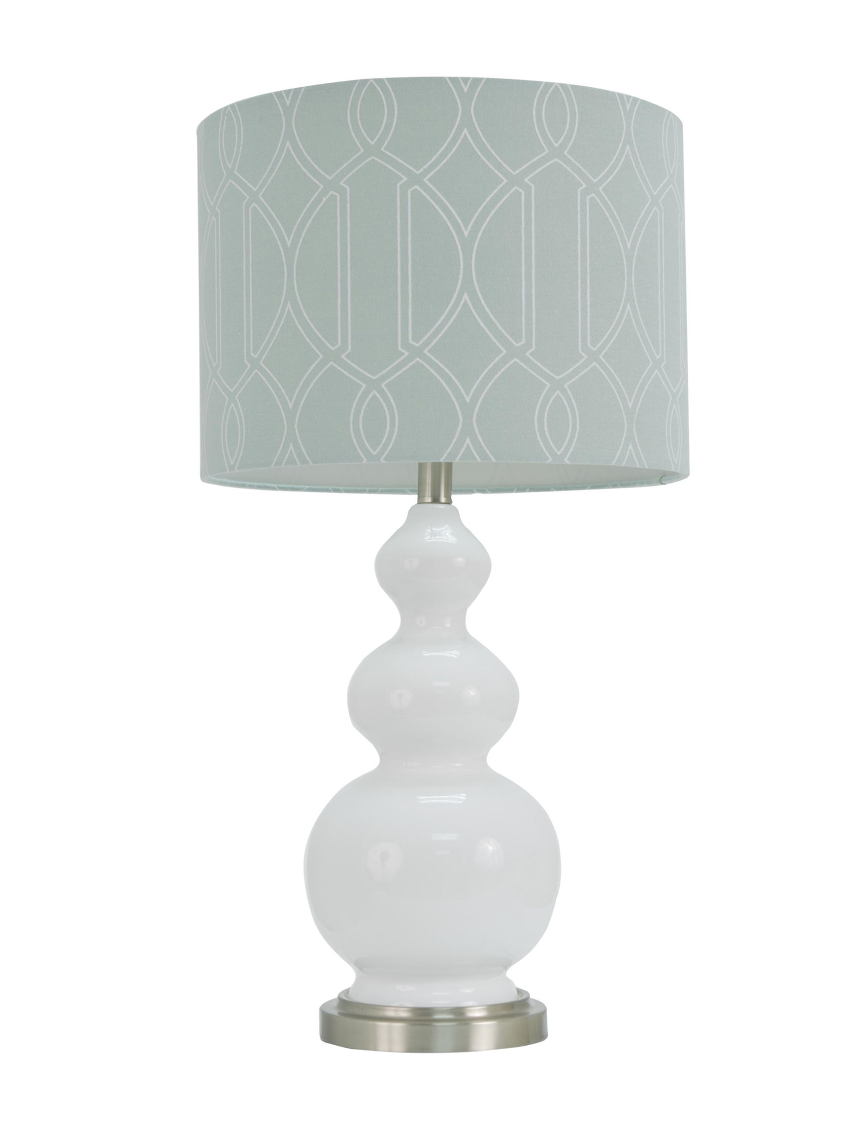 Decor Therapy White Table Lamps Lighting & Lamps