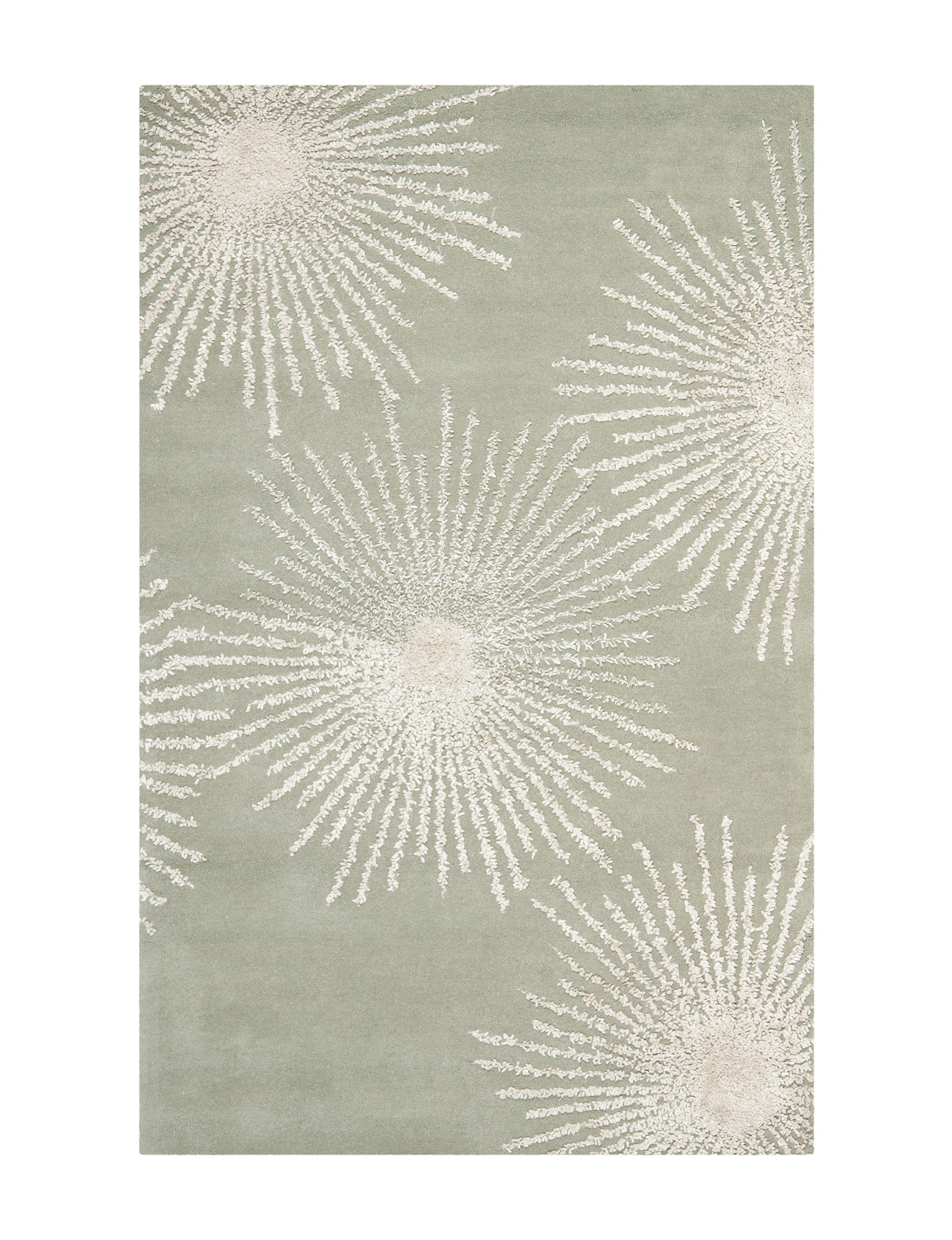 Safavieh Grey / Ivory Area Rugs