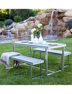 Walker Edison Grey Patio & Outdoor Furniture