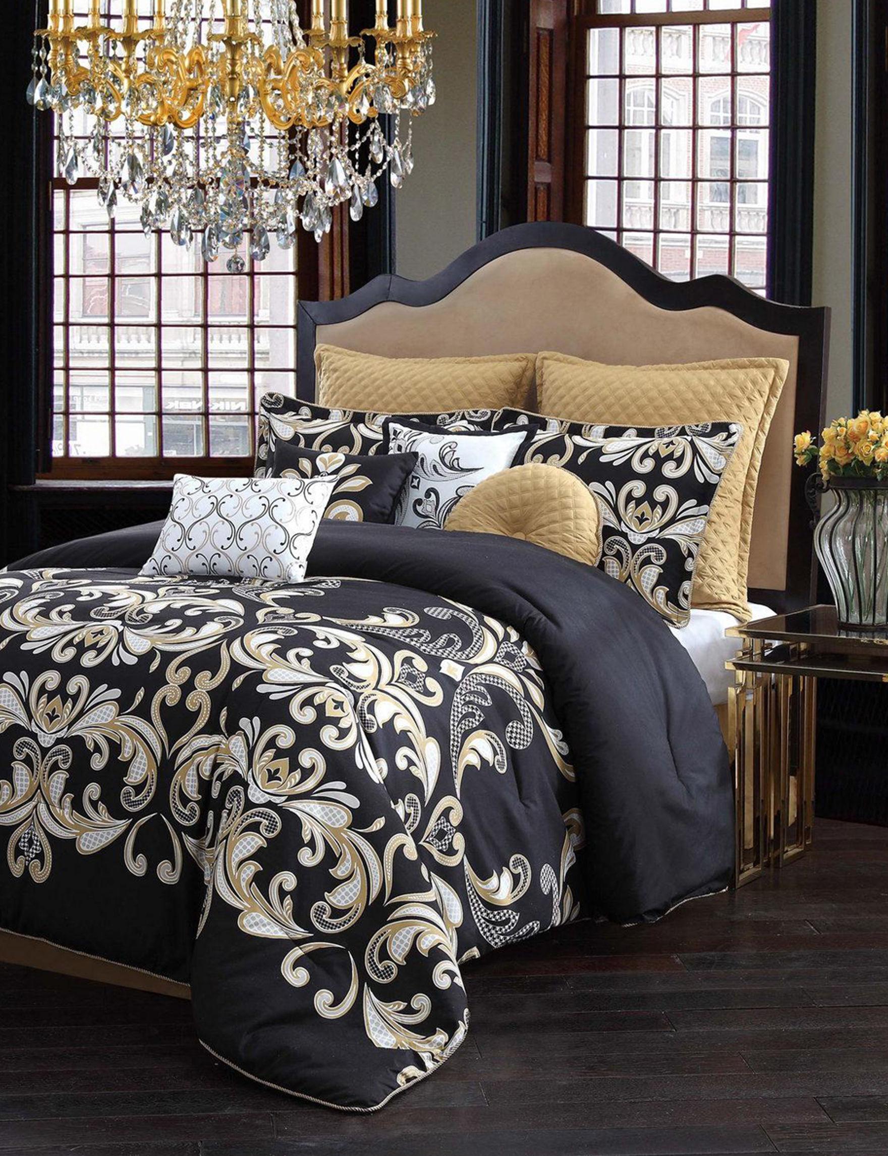 V1969 Black Comforters & Comforter Sets