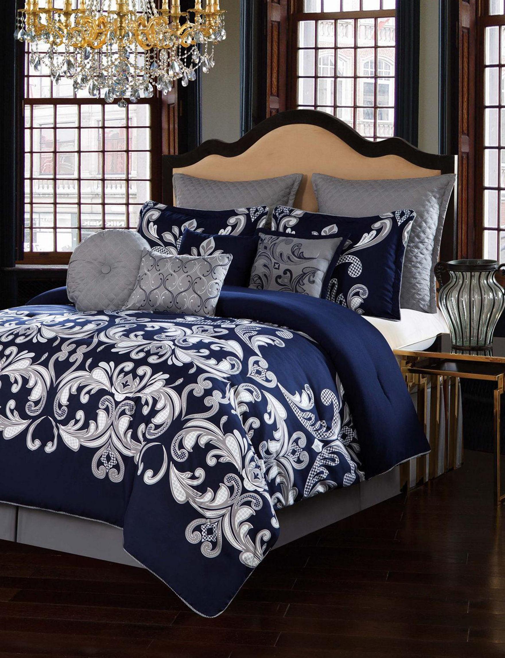 V1969 Blue Comforters & Comforter Sets