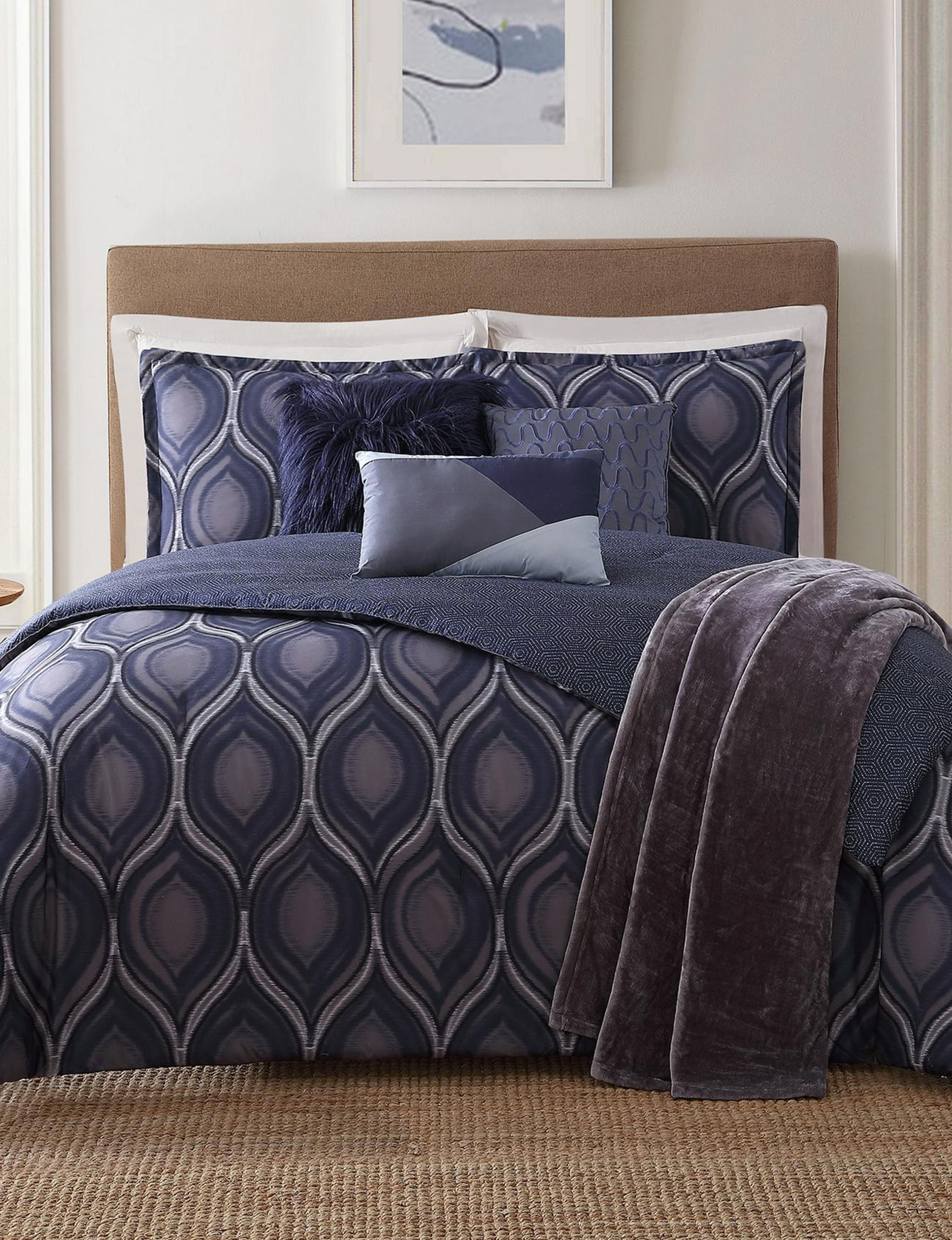 Jennifer Adams Blue Comforters & Comforter Sets