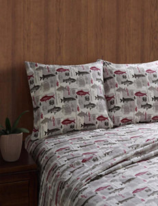 Remington Red Sheets & Pillowcases