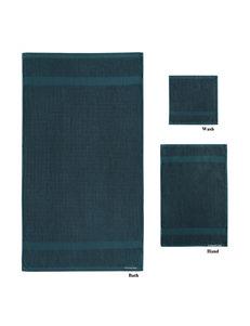London Fog Blue Towels