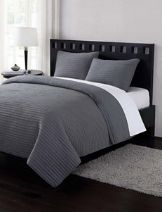London Fog Grey Quilts & Quilt Sets