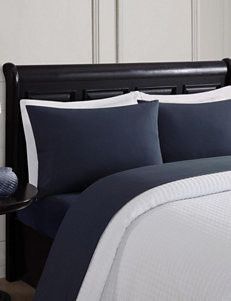 London Fog Black Sheets & Pillowcases