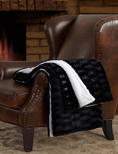 London Fog Black Blankets & Throws