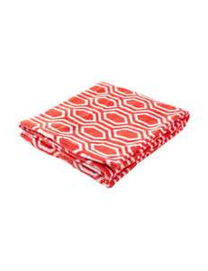 Great Hotels Collection Coral Blankets & Throws