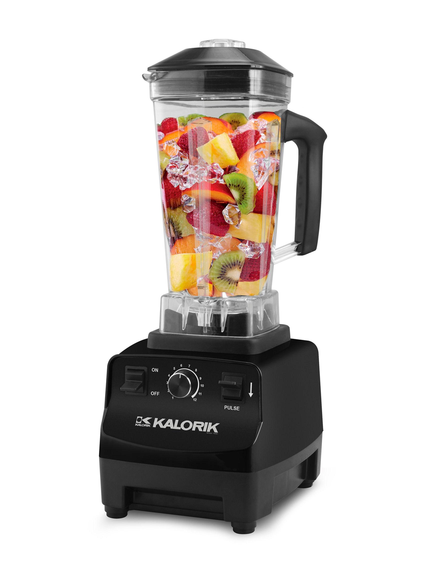 Kalorik Black Blenders & Juicers Kitchen Appliances