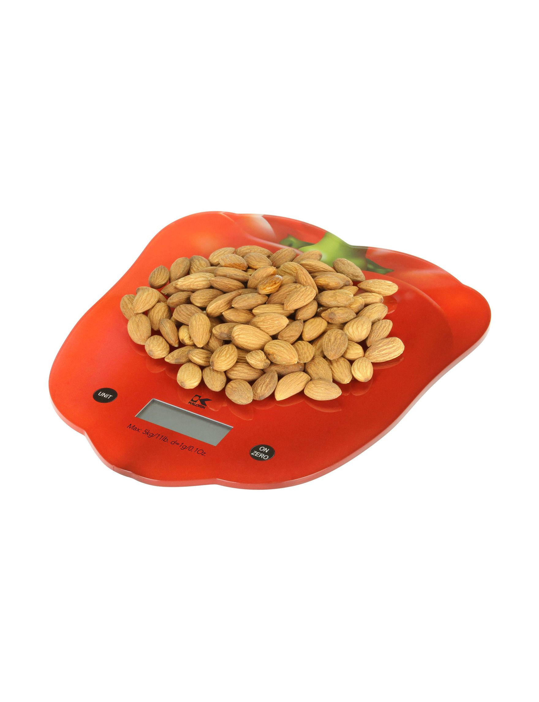 Kalorik Red Kitchen Appliances Prep & Tools