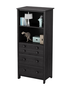 South Shore Grey Bookcases & Shelves Dressers & Chests Bedroom Furniture Living Room Furniture