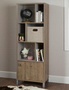 South Shore Brown Bookcases & Shelves Storage Shelves Bedroom Furniture Home Office Furniture Living Room Furniture
