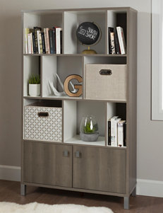 South Shore Grey Bookcases & Shelves Bedroom Furniture Home Office Furniture Living Room Furniture