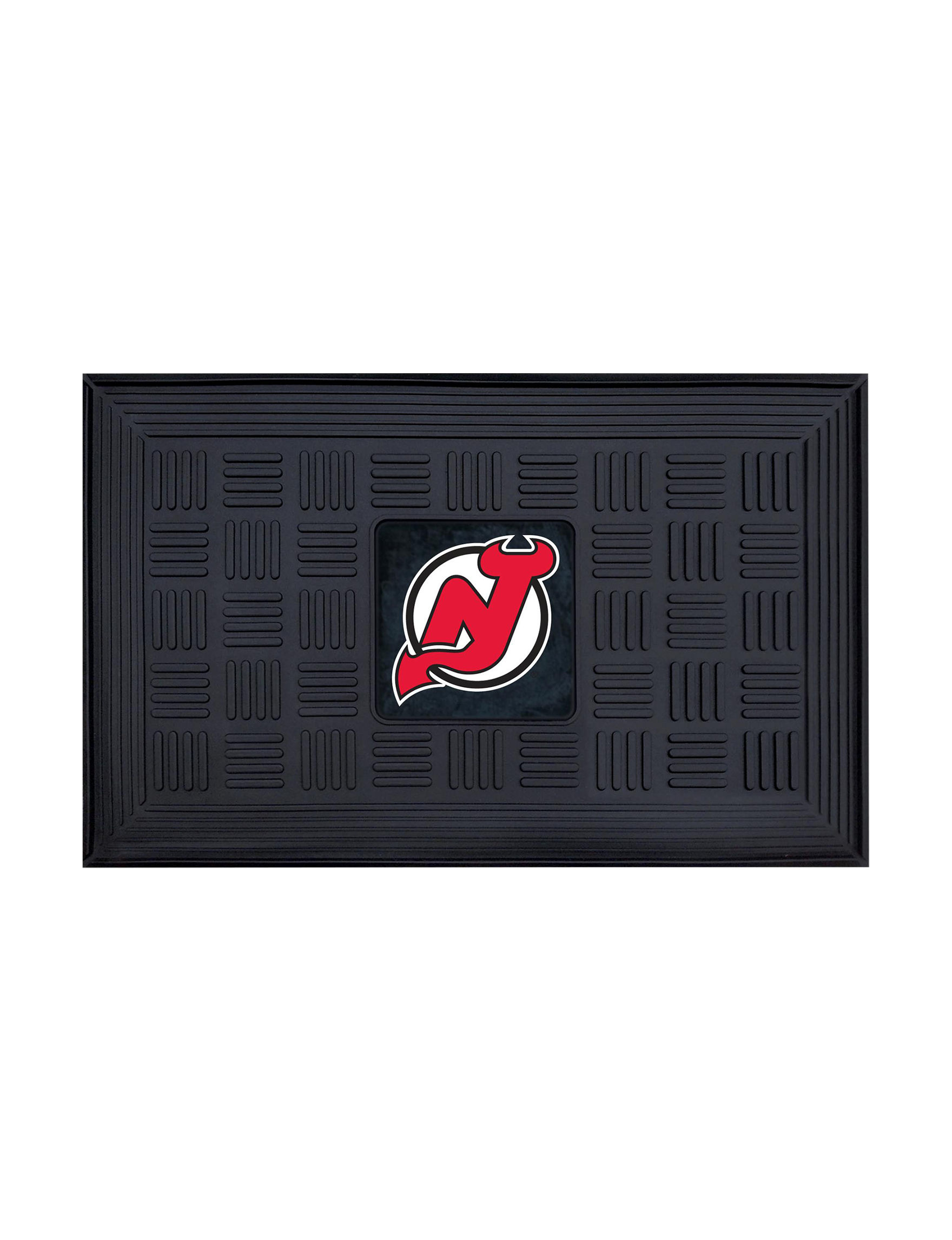 Fanmats Black Outdoor Rugs & Doormats NHL Outdoor Decor