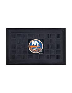 Fanmats Black Outdoor Rugs & Doormats NHL Outdoor Decor