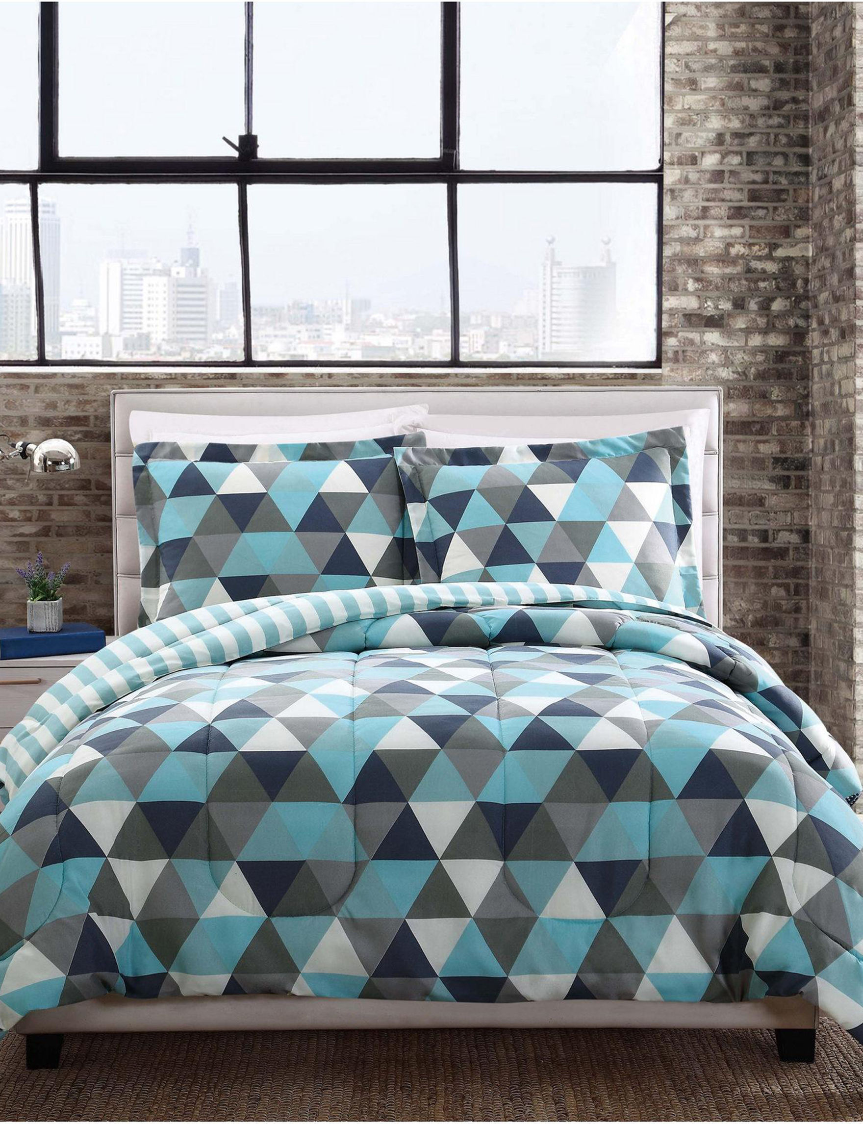 Style 212 Blue Comforters & Comforter Sets
