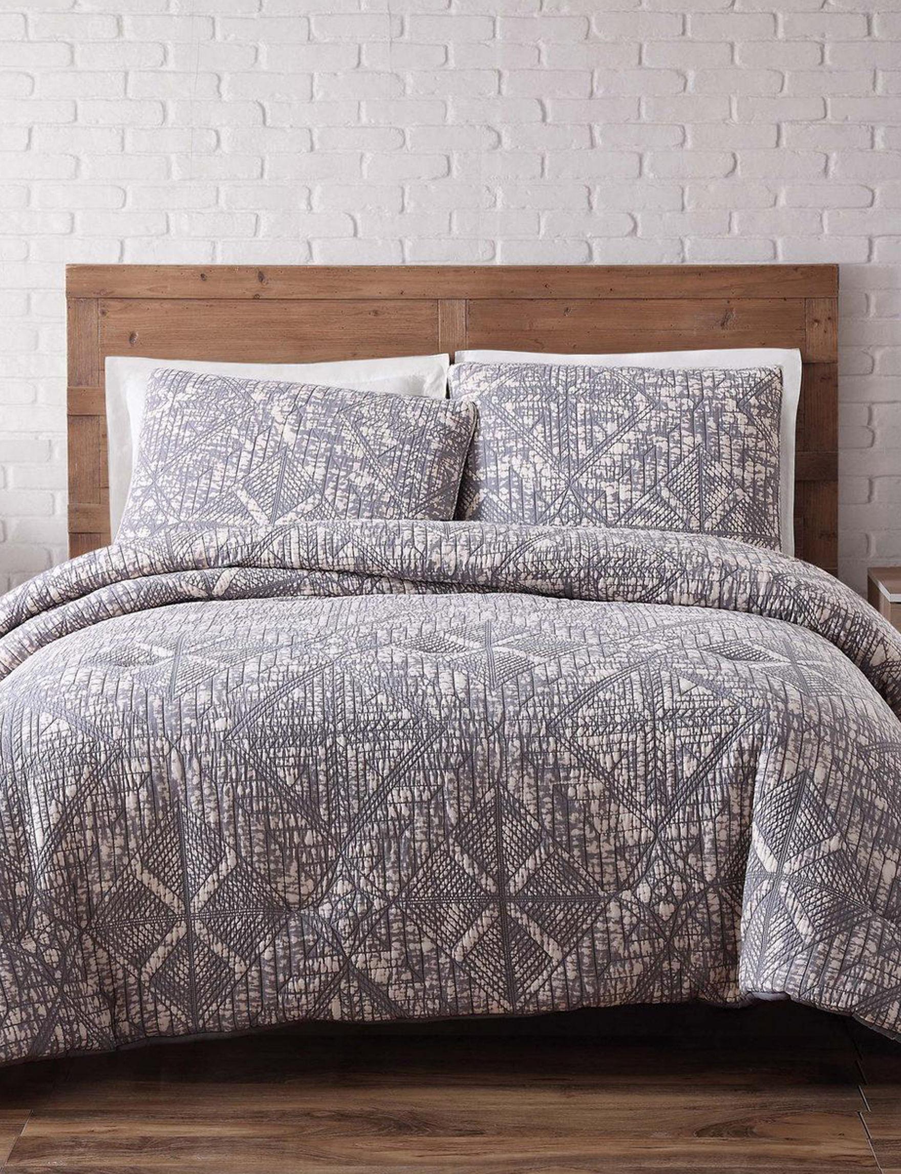 Brooklyn Loom Grey Duvet Duvets & Duvet Sets