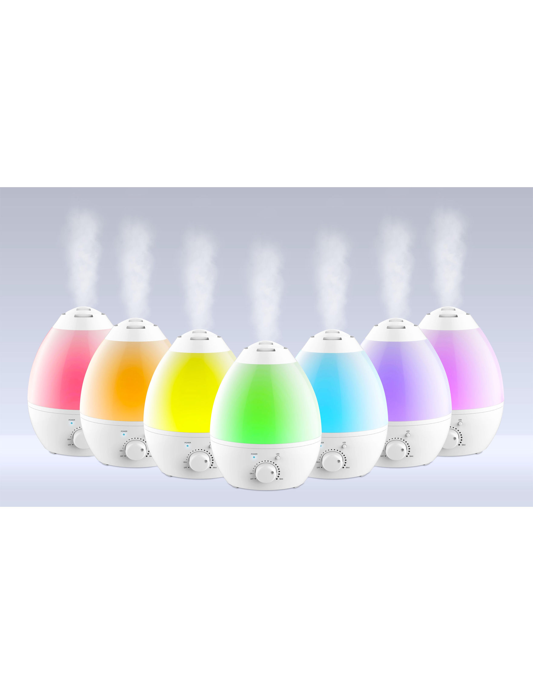 As Seen on TV White Fans Humidifiers & Air Purifiers