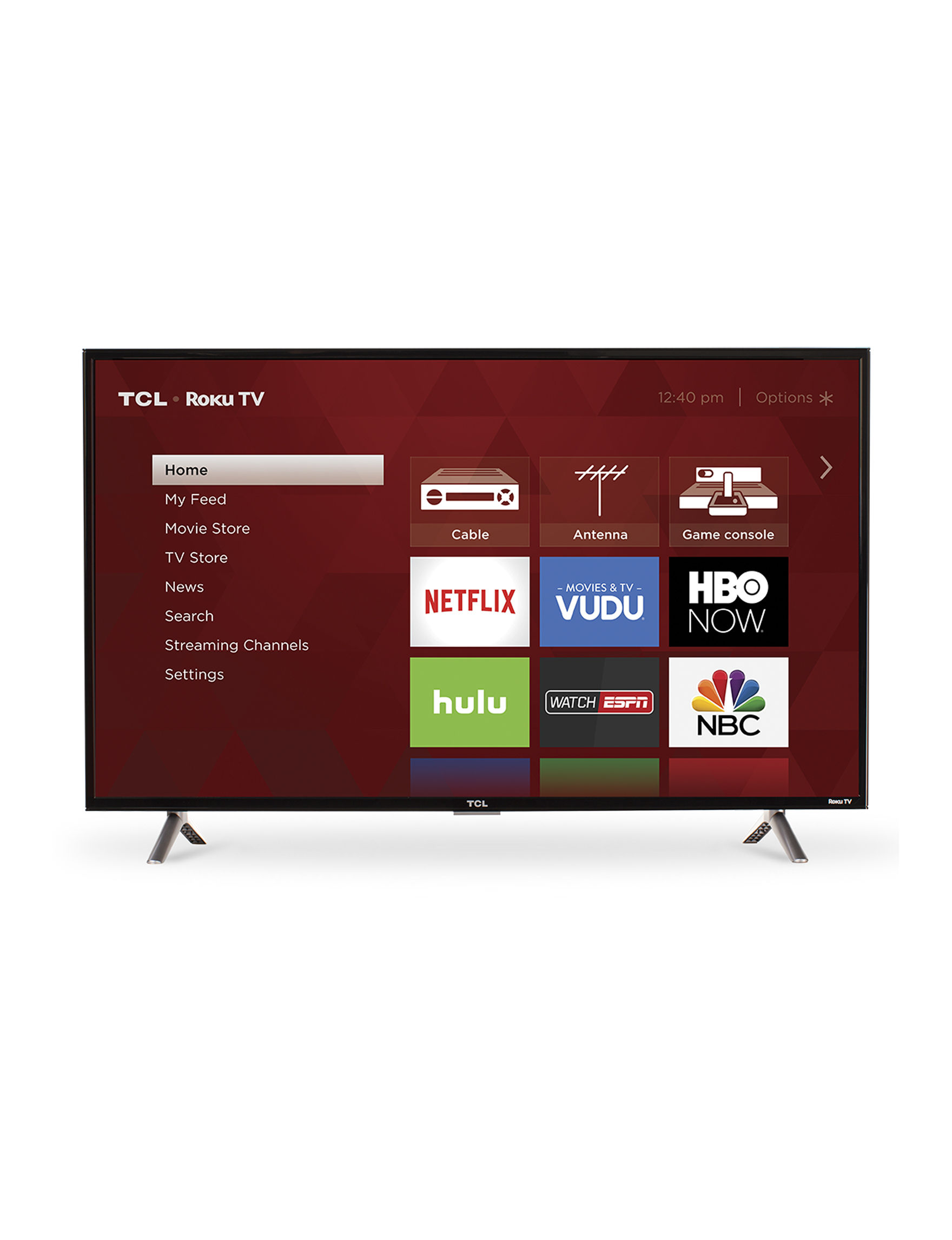 TCL Black Televisions TV & Home Theater