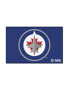 Fanmats Black NHL Rugs