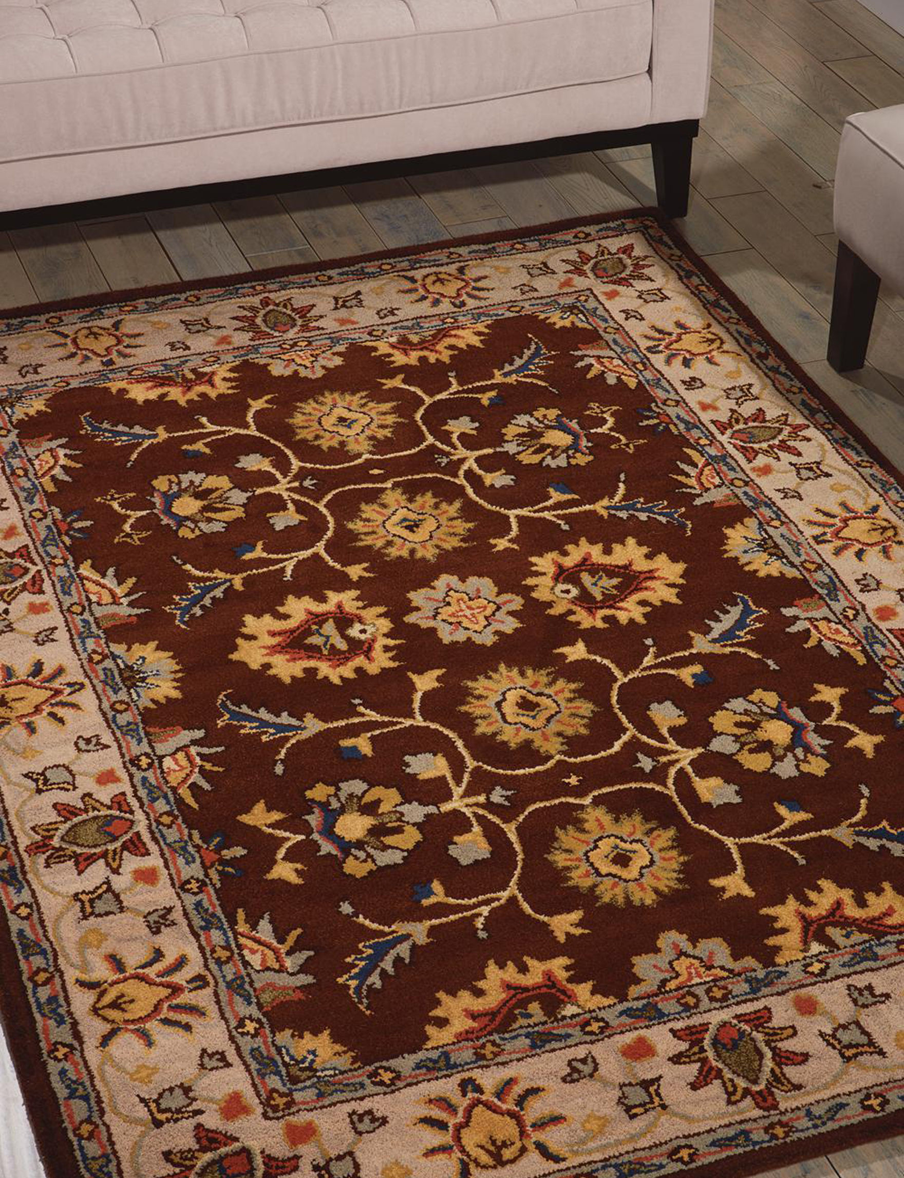 Nourison Brown Accent Rugs Rugs