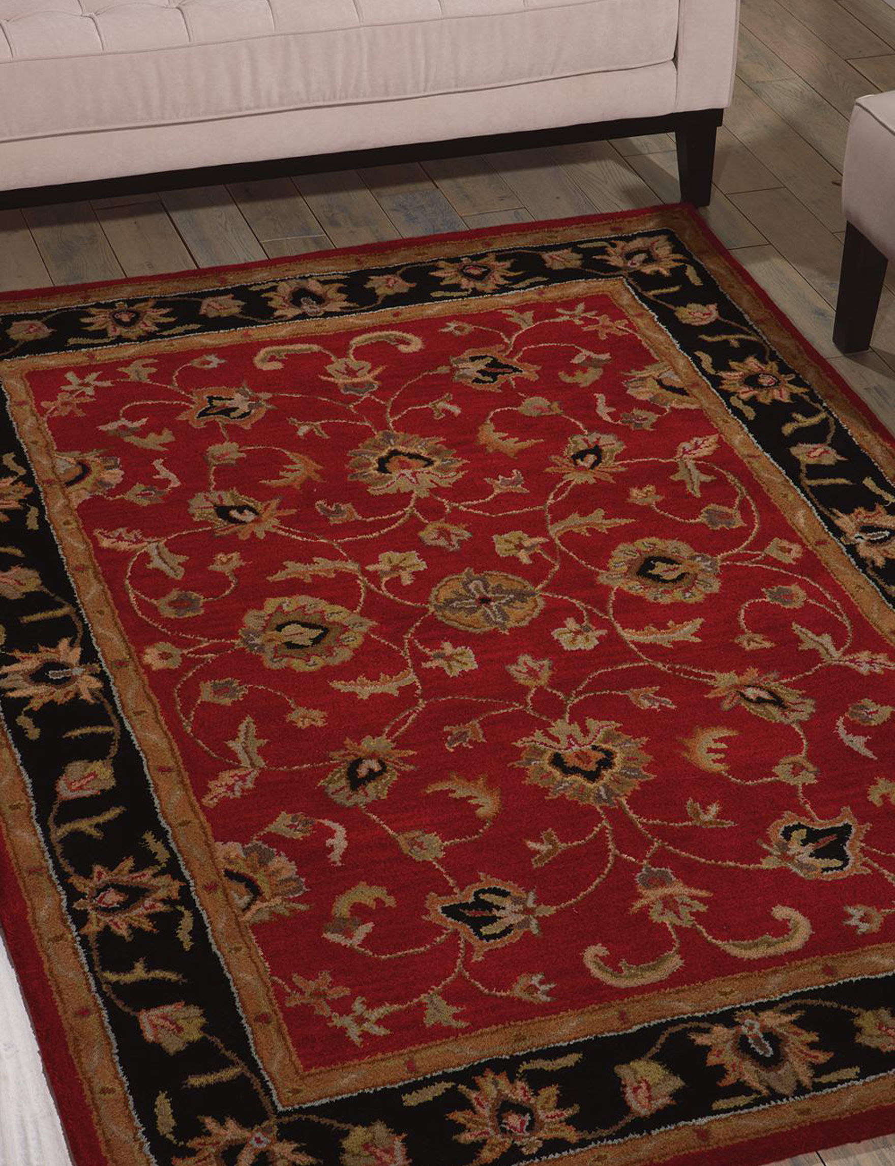 Nourison Red Accent Rugs Area Rugs Rugs