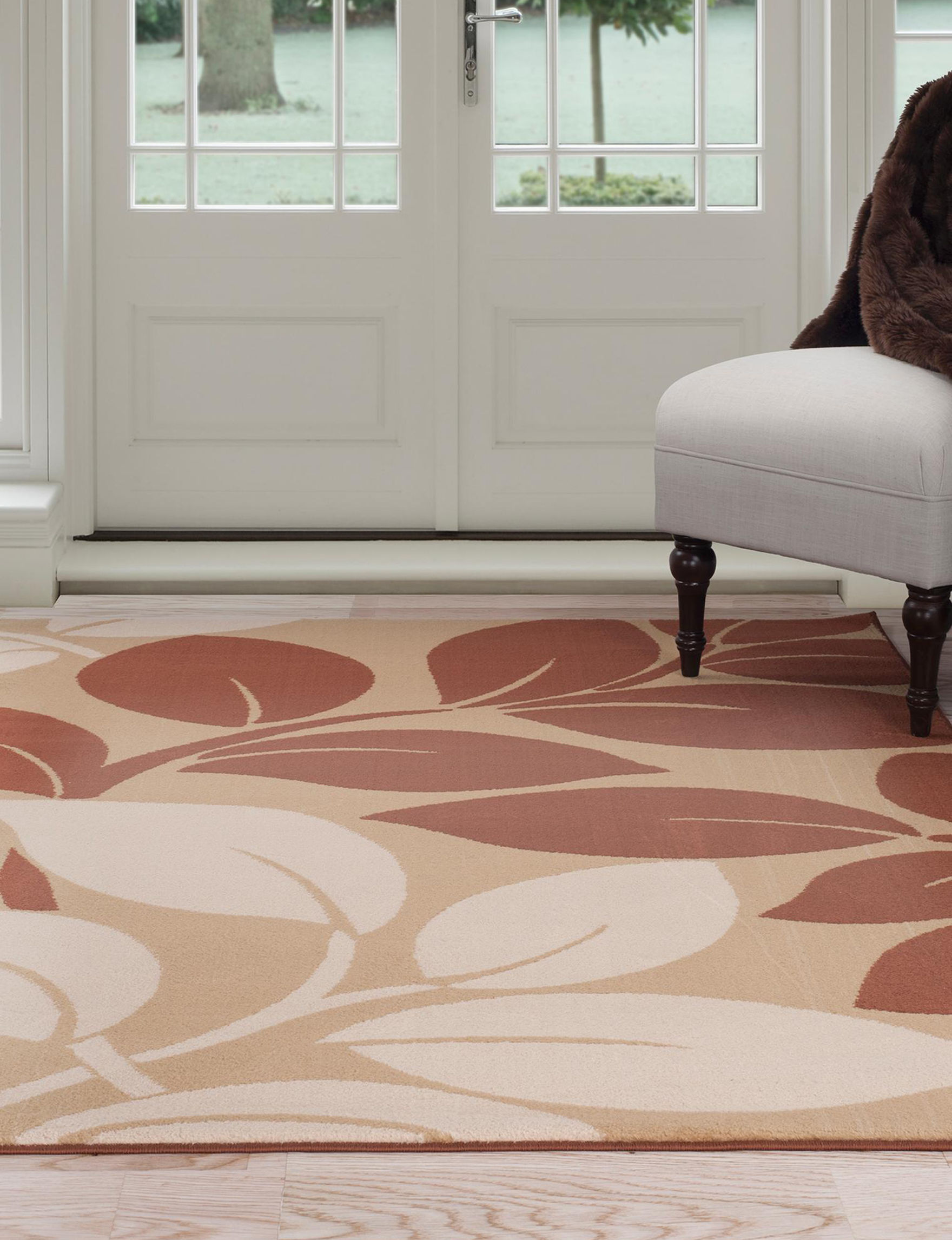 Lavish Home Brown Area Rugs Rugs