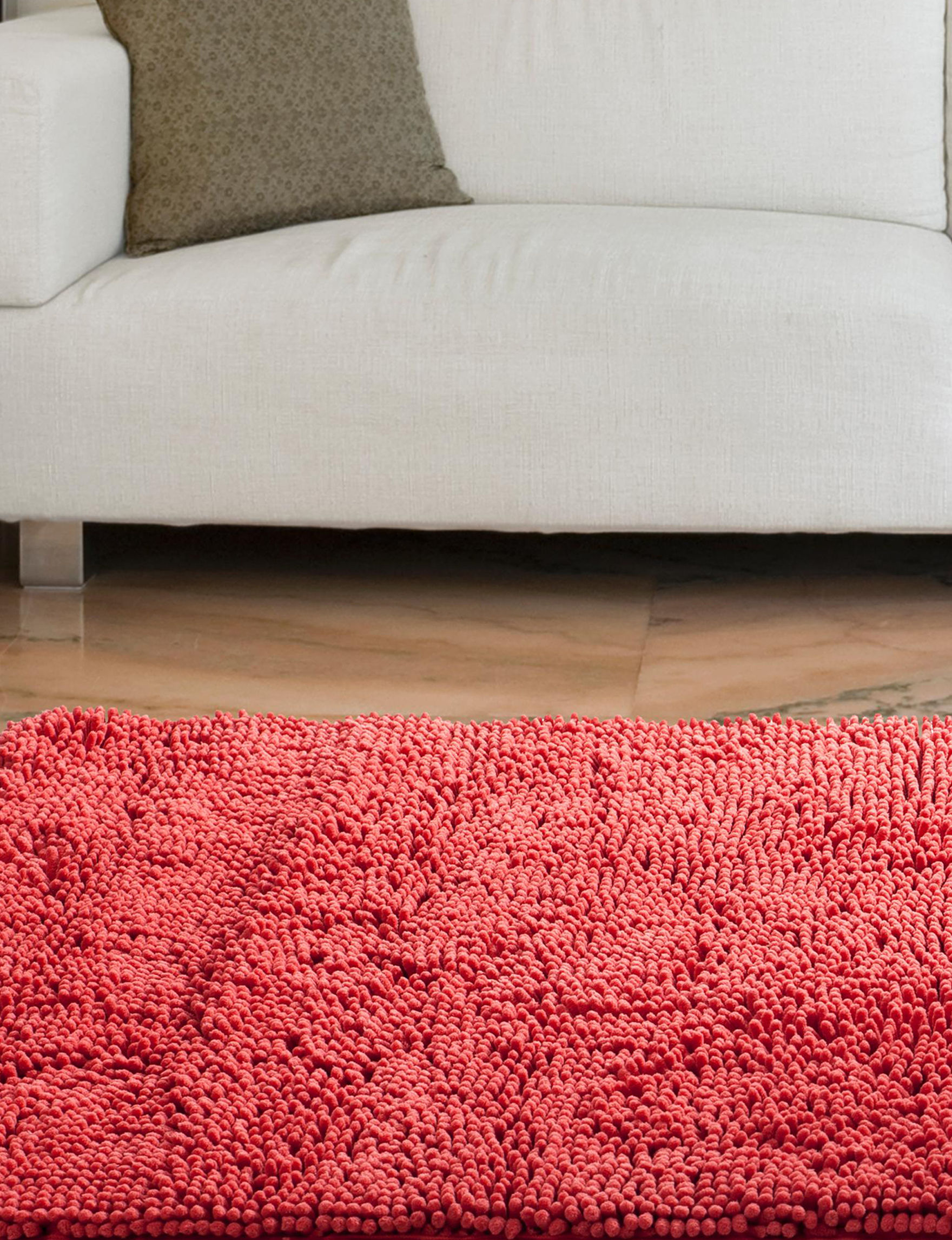 Lavish Home Coral Accent Rugs Area Rugs Rugs