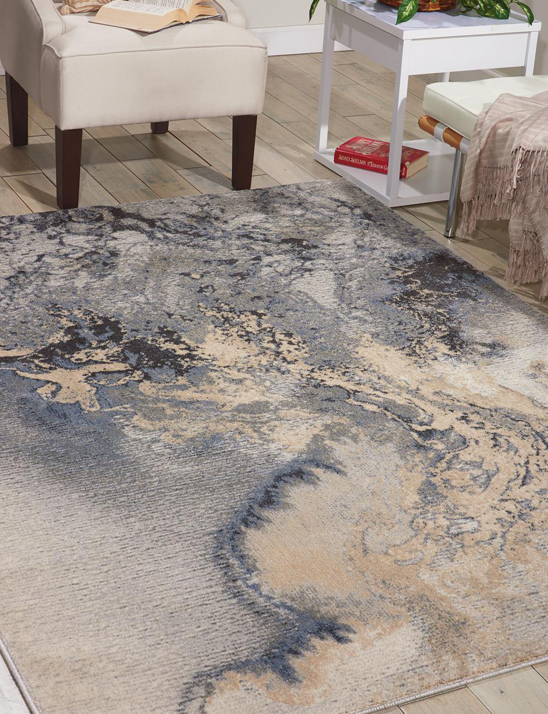 Nourison Charcoal Area Rugs Rugs