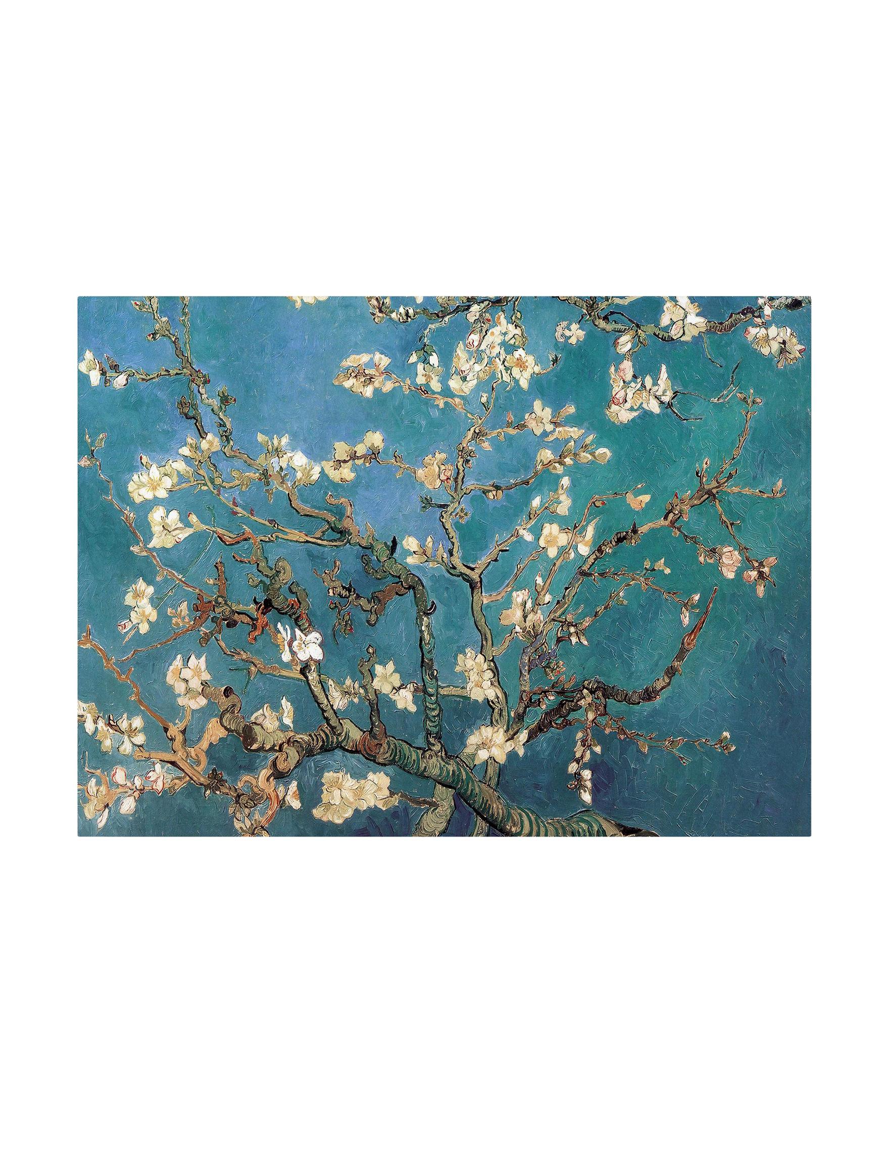 Trademark Fine Art Blue Wall Decor