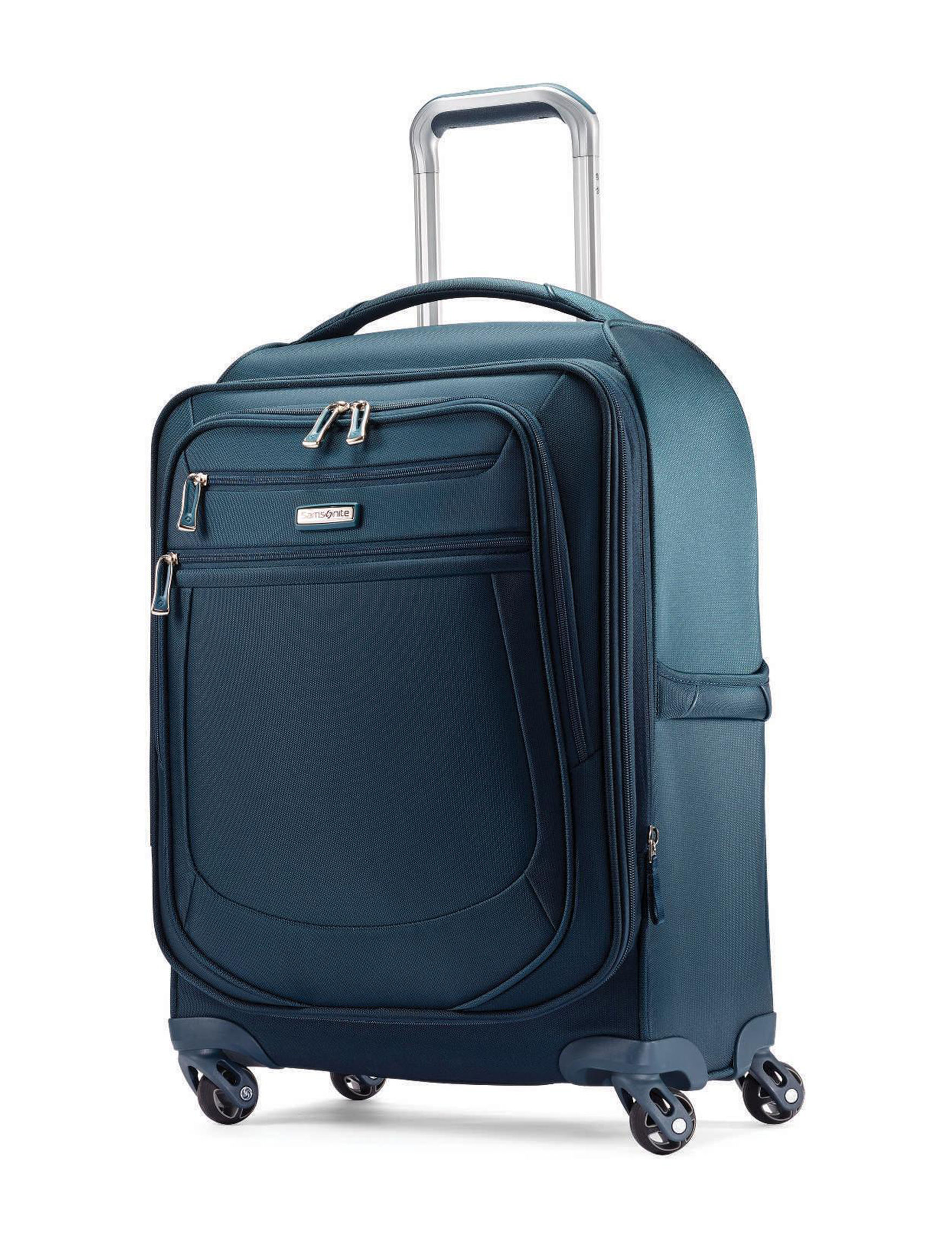 Samsonite Blue Upright Spinners